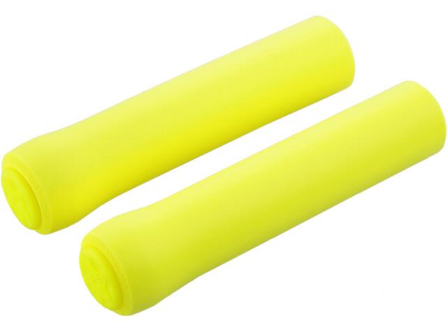 Supacaz Siliconez Grips, neon yellow